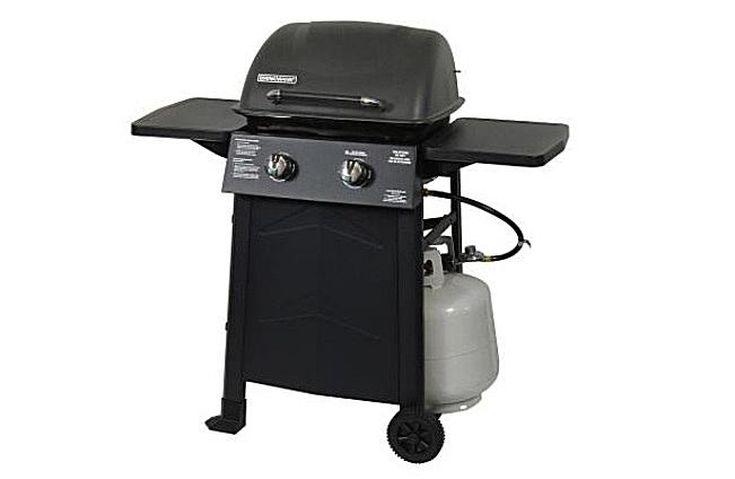 kitchenaid 2 burner grill. brinkmann 2-burner 810-9215-s gas grill kitchenaid 2 burner
