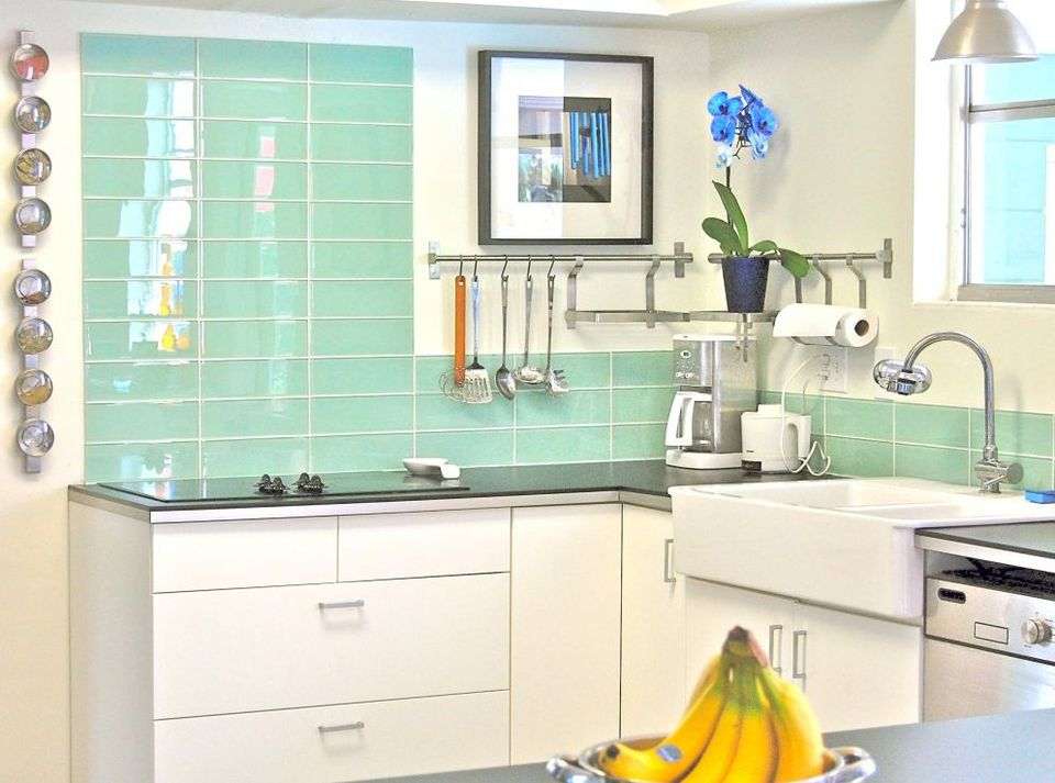 kitchen backsplash tile. Surf Colored Green Glass Kitchen Backsplash Subway Tile 30 Amazing Design Ideas For A