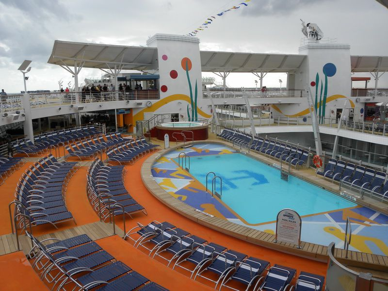 Allure Of The Seas Cruise Ship Outdoor Deck Areas
