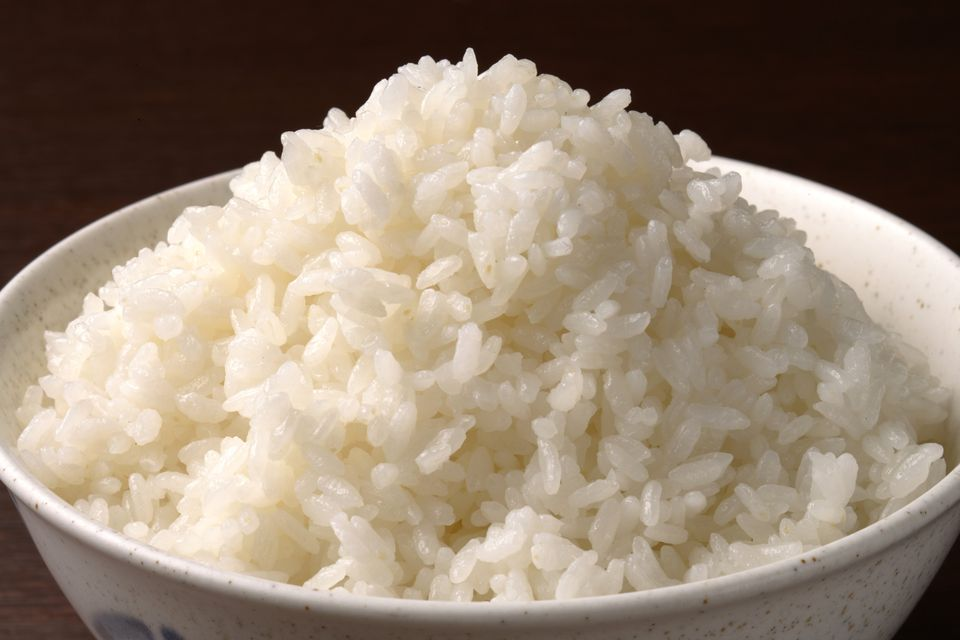 Simple technique for cooking white rice cooked white rice ccuart Image collections