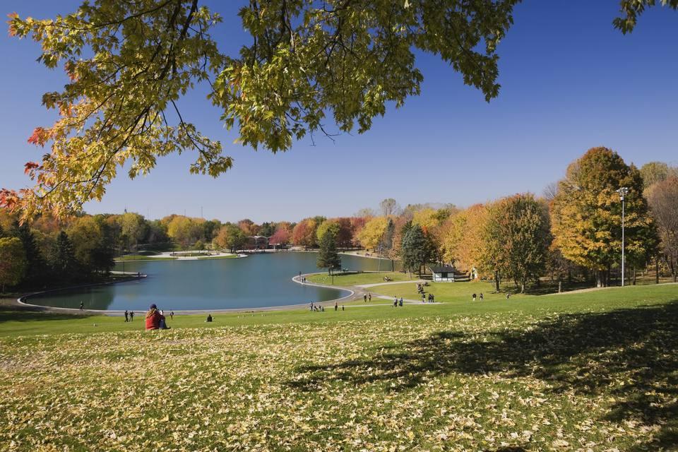 Beaver Lake during Autumn