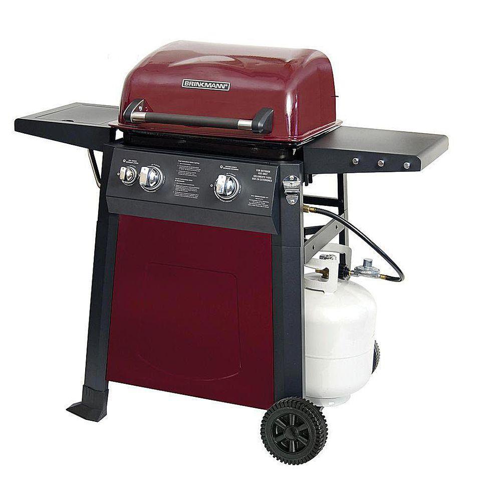 Brinkmann 2-Burner Gas Grill Model# 810-4221-S