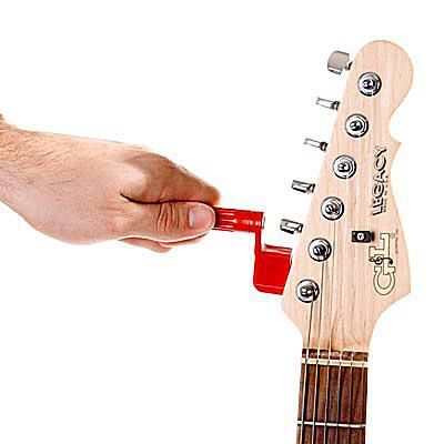 changing the old sixth guitar string