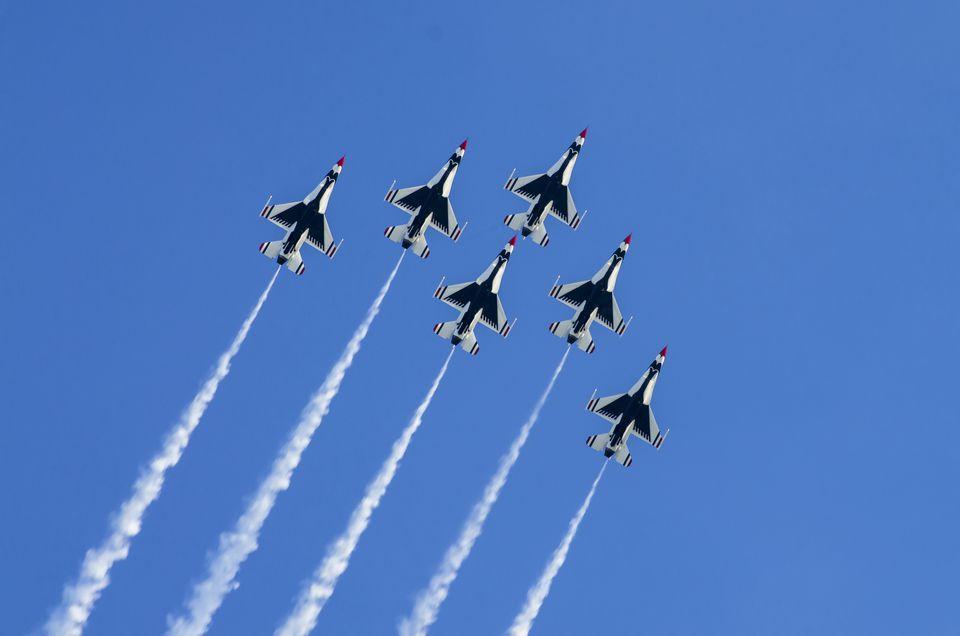 The Thunderbirds. Homestead AFB. Florida. USA