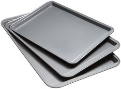 Good Cook Set Of 3 Non-Stick Cookie Sheet