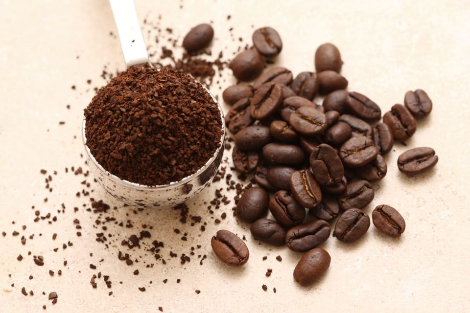 Fresh coffee grounds work as a natural fabric deodorizer for upholstery, rugs, and textiles.
