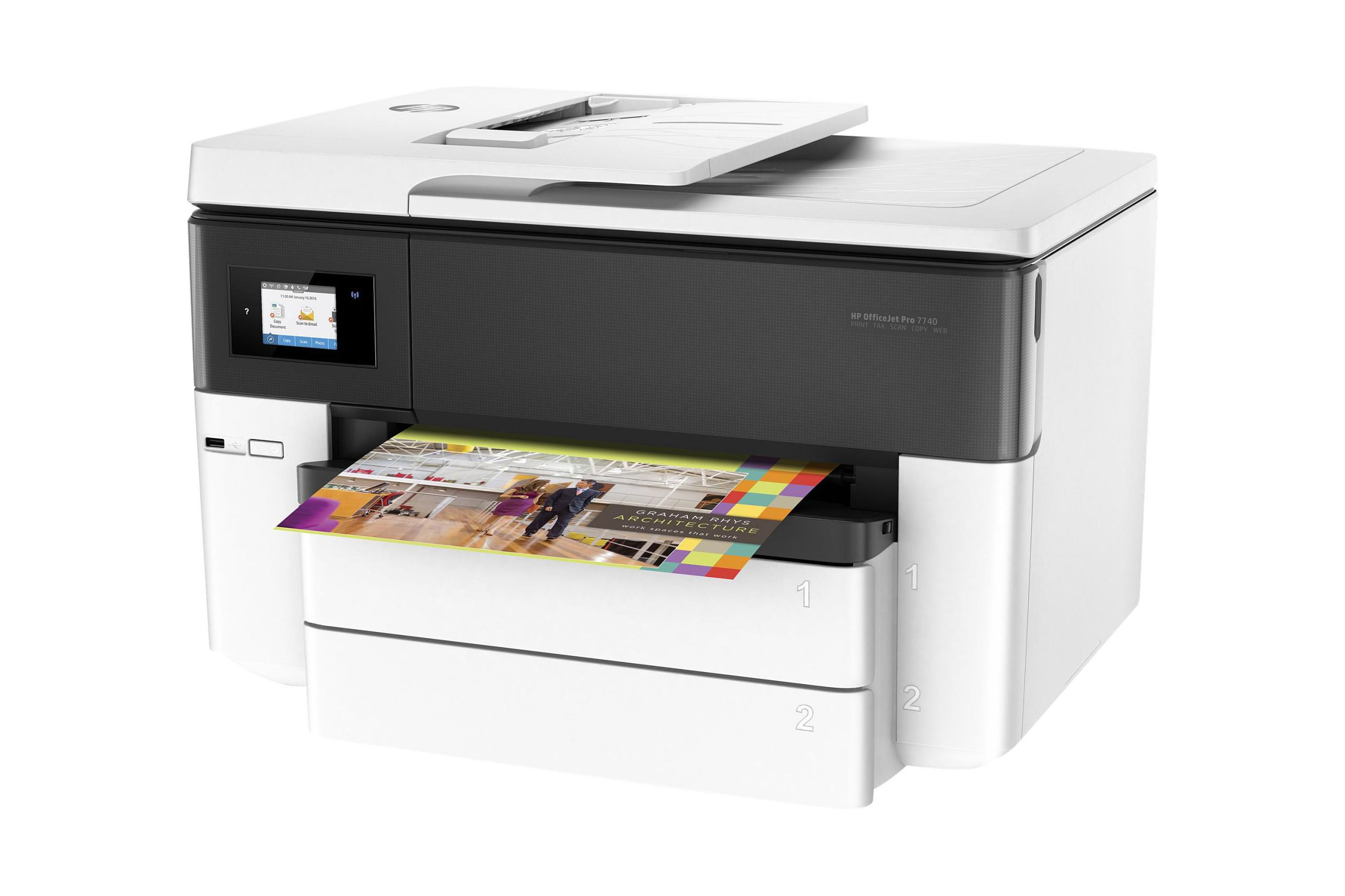 business printers office features imageclass view canon printer side
