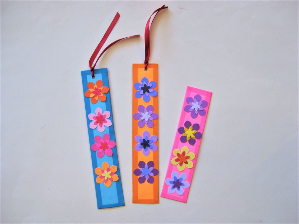 Colorful Bookmark Kids Craft