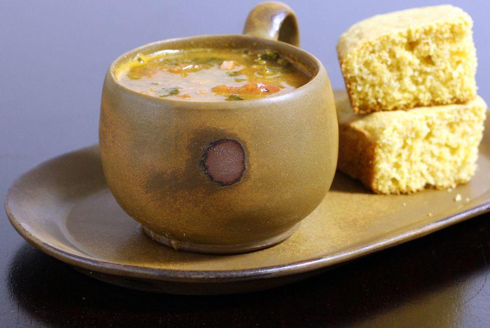 Bean Soup With Cornbread