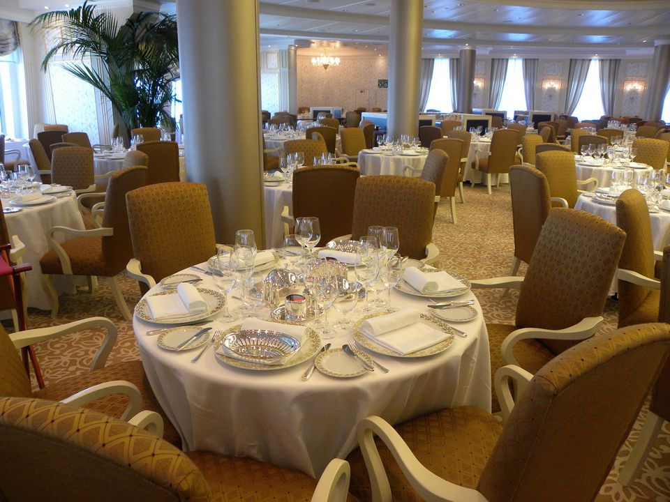 Oceania Cruises' Riviera - Grand Dining Room