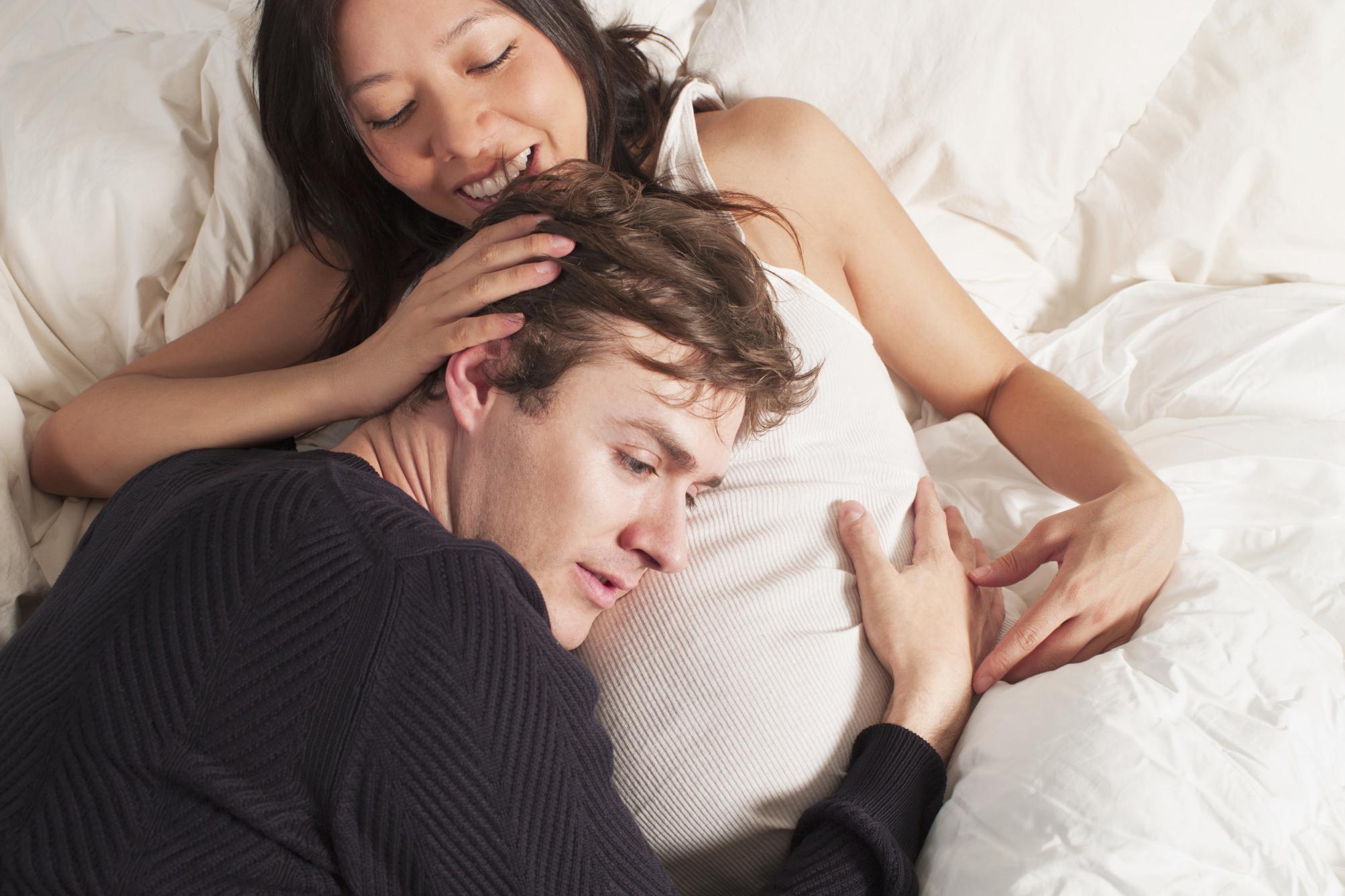 Vejledning til sex under graviditet og gravid orgasme-3090
