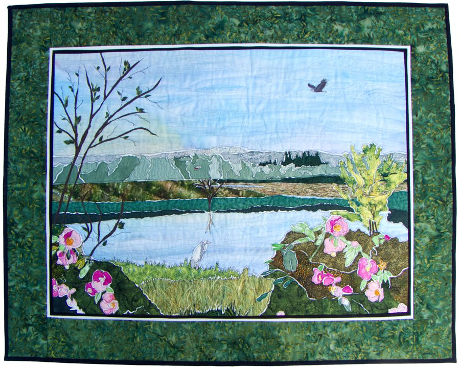 Pictures of Landscape and Art Quilts : landscape quilting - Adamdwight.com