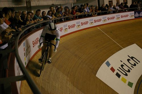Ciclista de pista