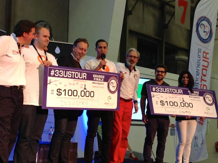 33entrepreneurs pitch competition winners for 2015