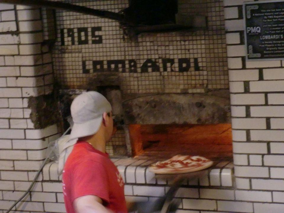 Lombardi's - America's first pizzeria