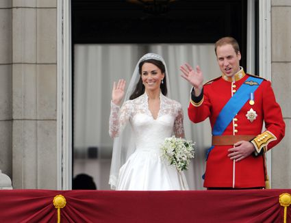 Pictures Of Prince William And Kate Middletons Royal Wedding Day