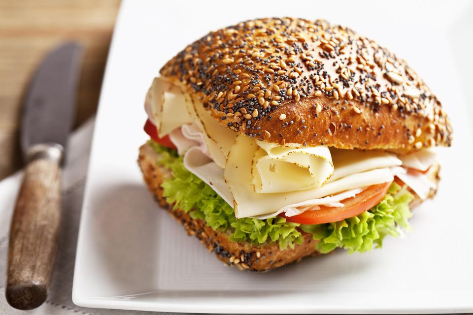 Baked Turkey Sandwich