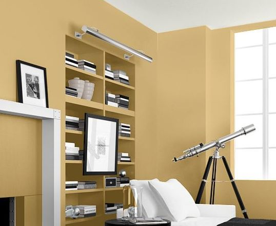 Family Room Paint Yellow