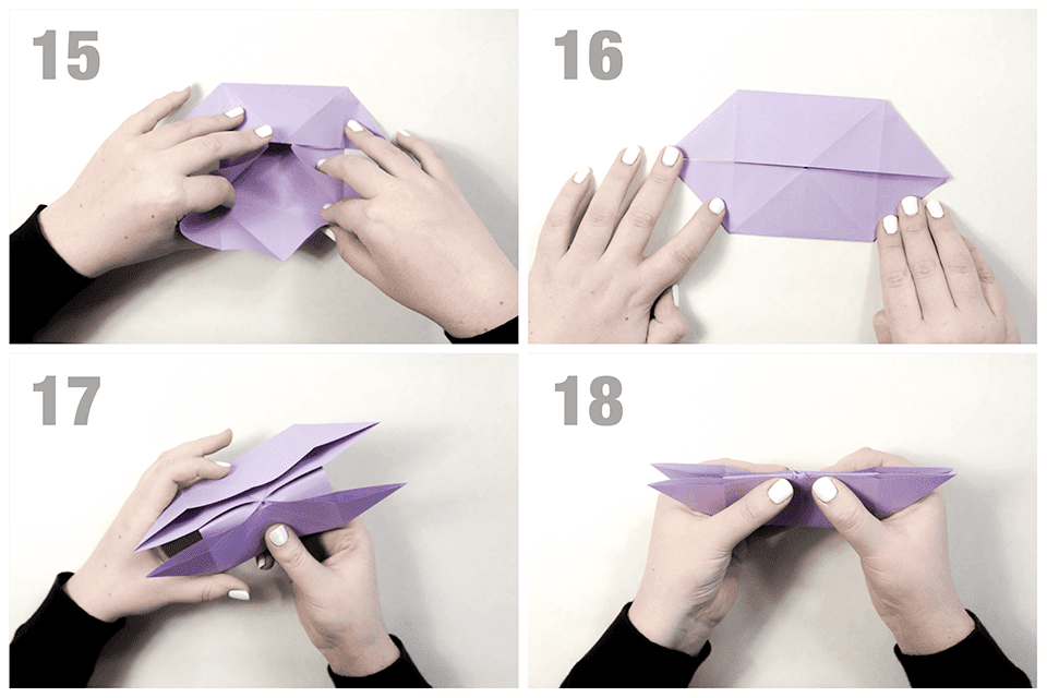 Sweet Souvenir: Make Origami butterfly, from zero to hero | 640x960