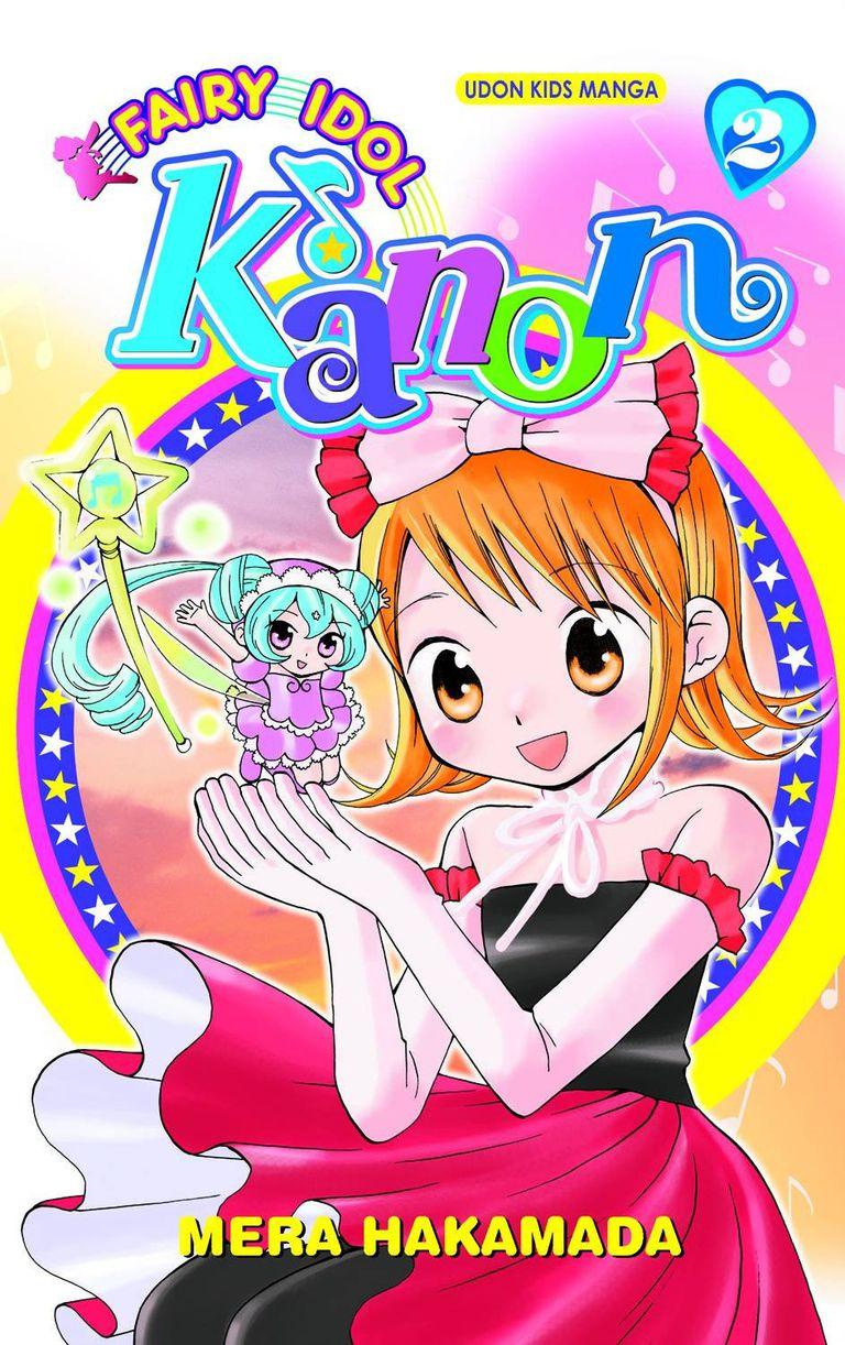 Fairy Idol Kanon Manga Cover