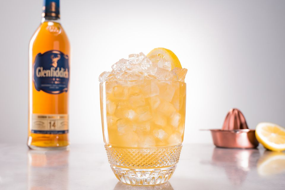 The Gille Fix Cocktail With Glenfiddich and Flor de Cana