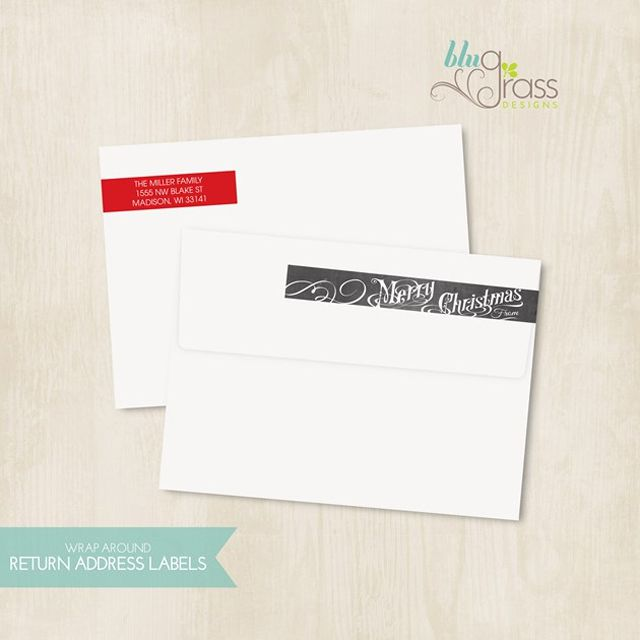 return address labels template