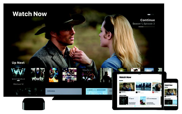 The Apple TV's TV app offers a new Watch Now feature
