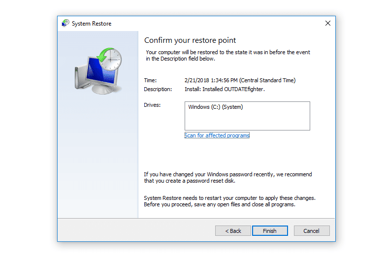 How To Use System Restore  Windows 10  8  7  Vista  Xp