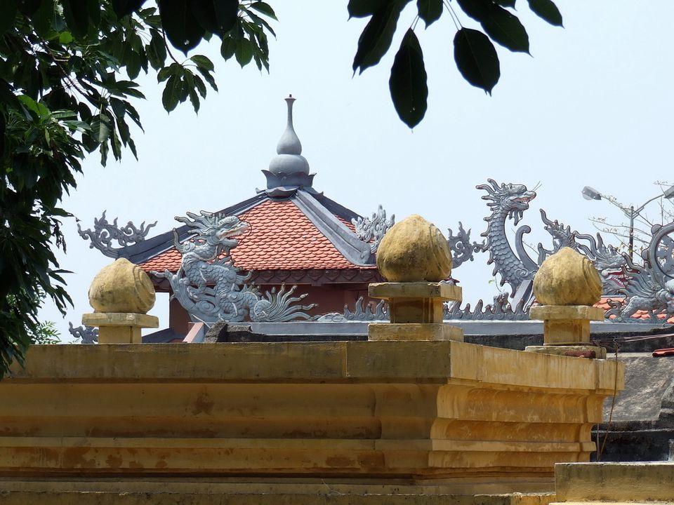 Museum of Cham Sculpture in Da Nang, Vietnam
