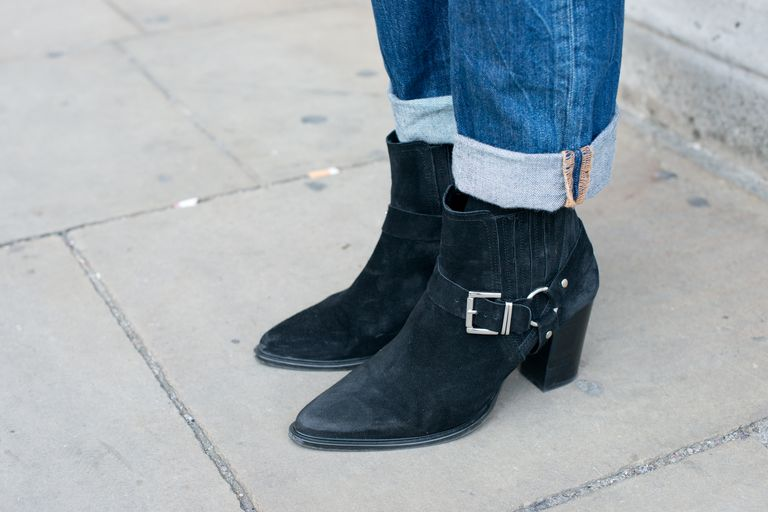 How to Wear Ankle Boots and Jeans