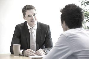 Meeting Between Student and Teacher