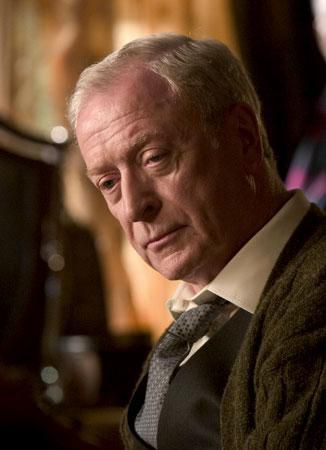 Michael Caine as Alfred in the 2005 hit, Batman Begins.