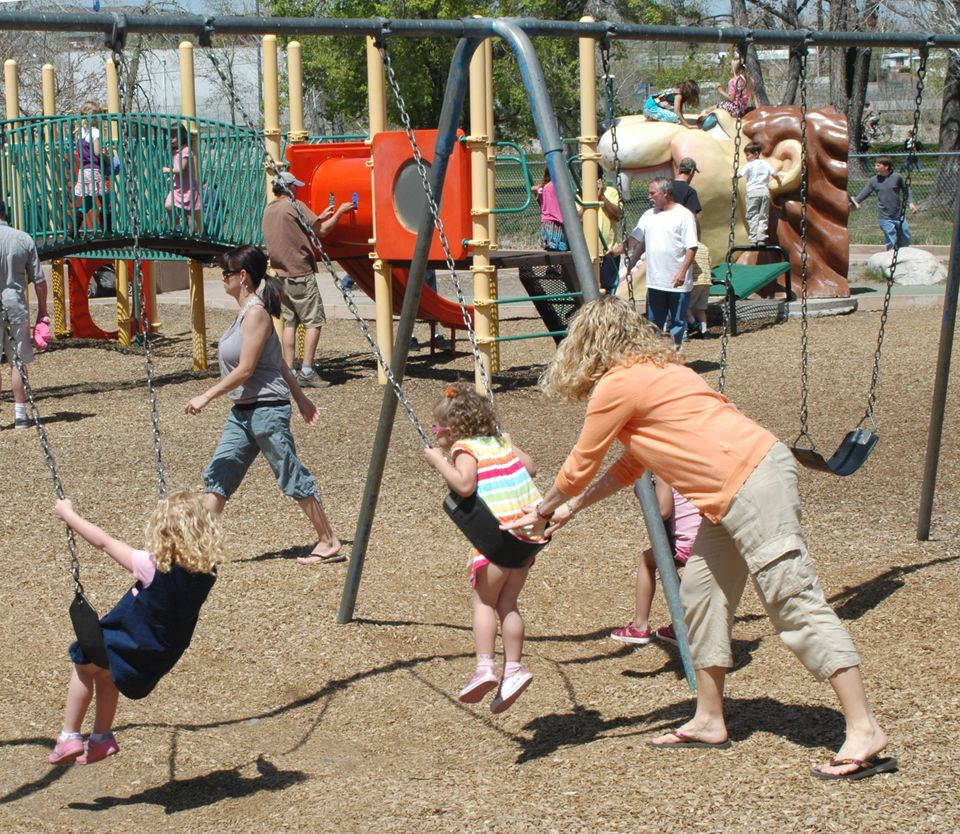 Playground at Idlewild Park in Reno, Nevada
