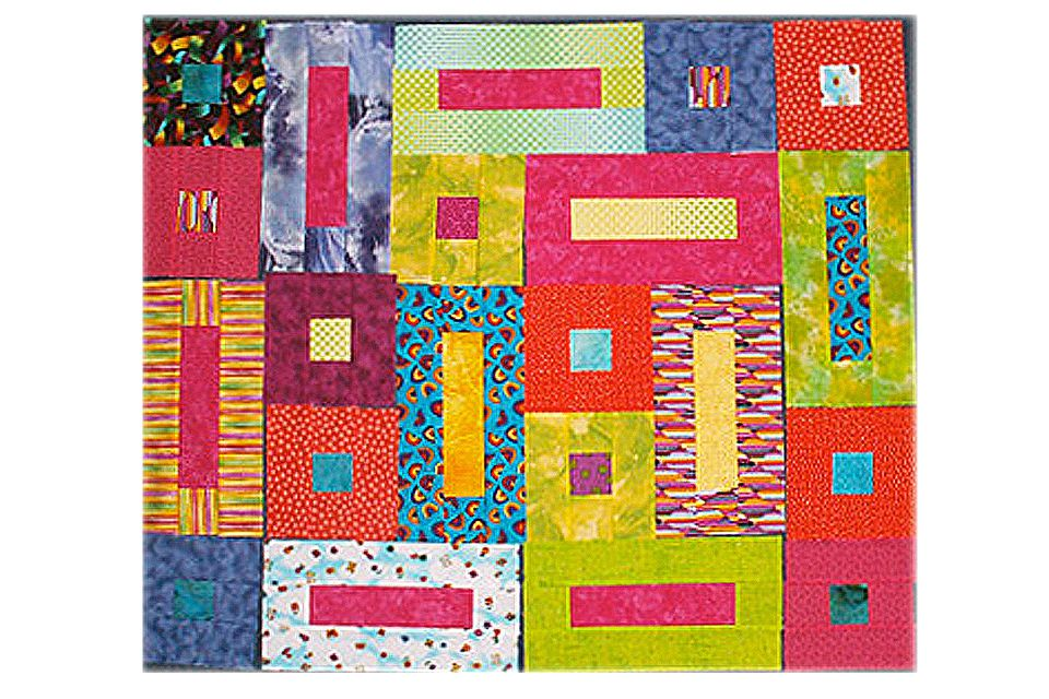 Bricks and Cobblestones Quilt Blocks