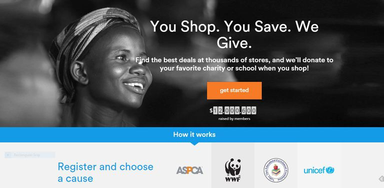 GoodShop lets you buy holiday gifts and also donate to your favorite causes.