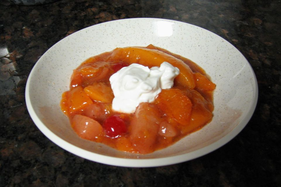 Warm Spiced Fruit From the Slow Cooker