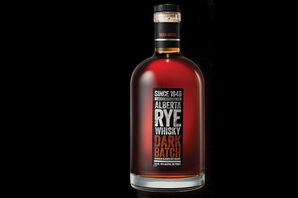 Alberta Rye Whiskey Dark Batch