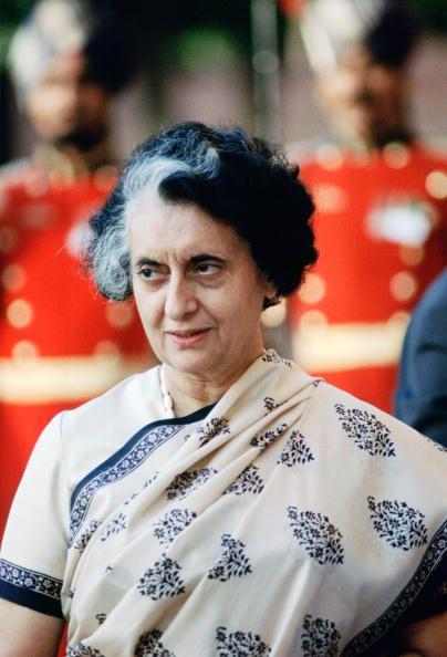Indira Ghandi November 1983
