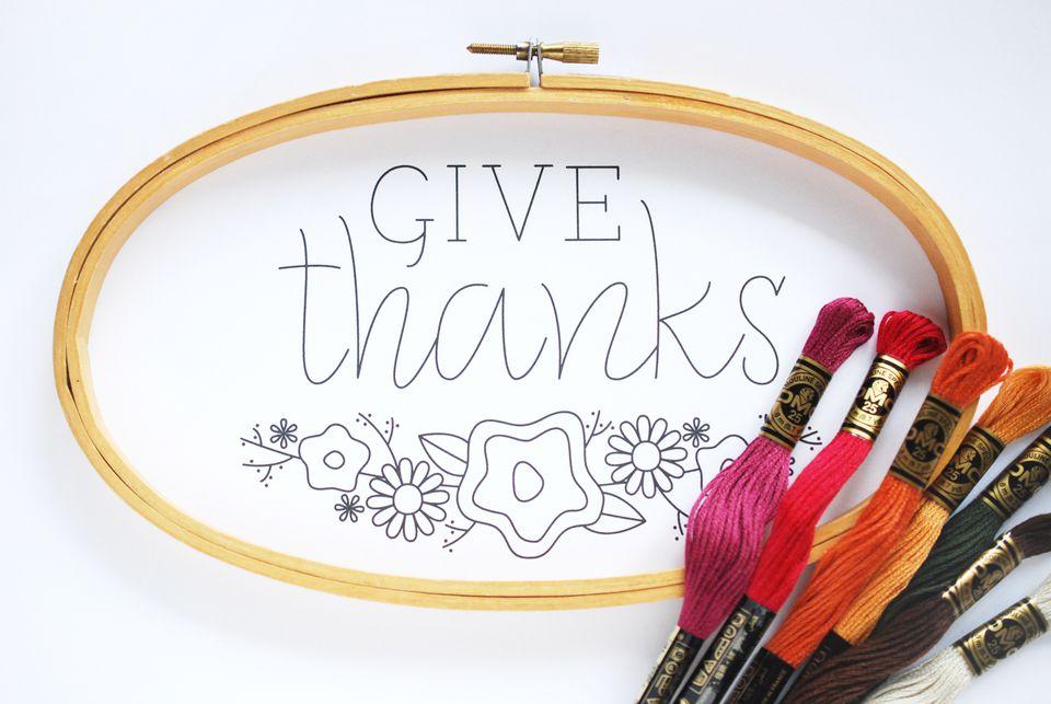 Free Thanksgiving Pattern