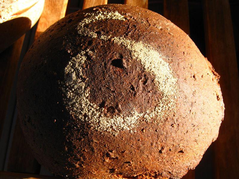Spelt and Rye Sourdough Baked