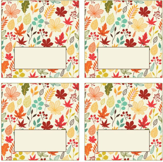Free printable place cards for thanksgiving colorful autumn leaf place cards pronofoot35fo Choice Image