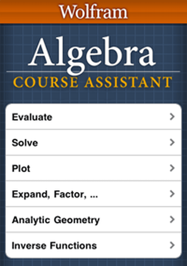 the top apps for doing algebra