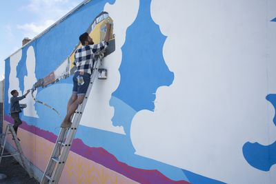 What Do You Need to Paint a Wall Mural?