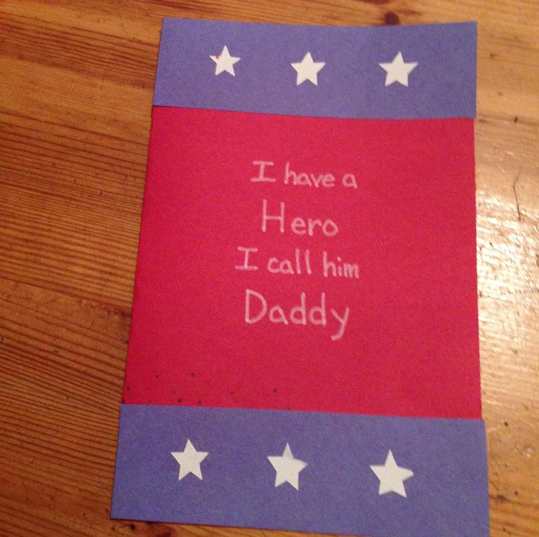 Father's Day Superhero Crafts for Preschoolers