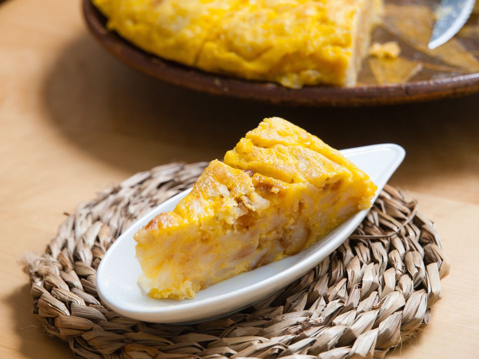 Tortilla Recipe; Spanish omelet Recipe