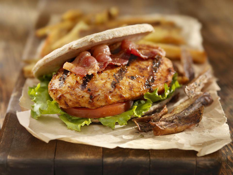 Cajun Teriyaki Grilled Chicken Sandwiches