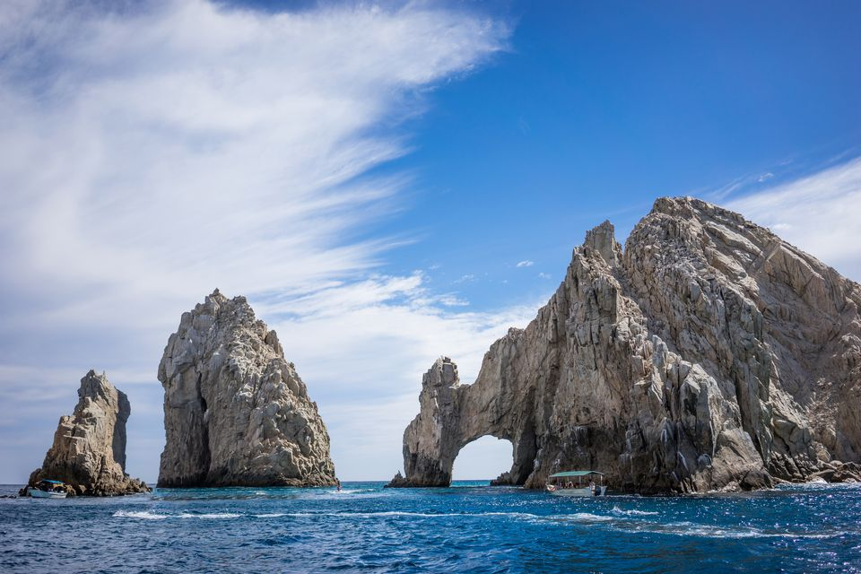Rock Formations around the Arch in Los Cabos
