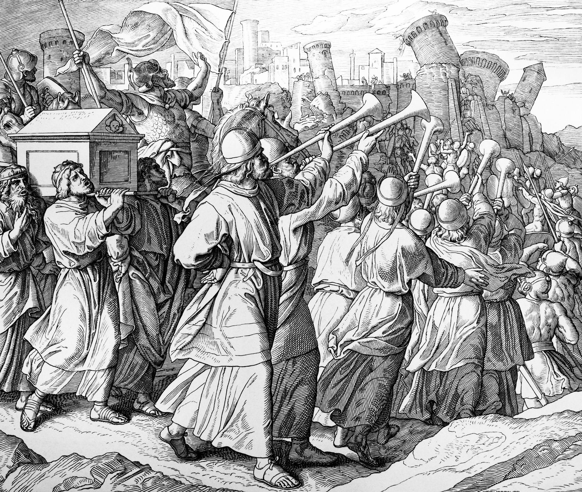 the battle of jericho ジェリコの戦い joshua fit the battle of jericho ジョシュアのジェリコ攻略を歌った黒人霊歌 合唱曲としても有名.