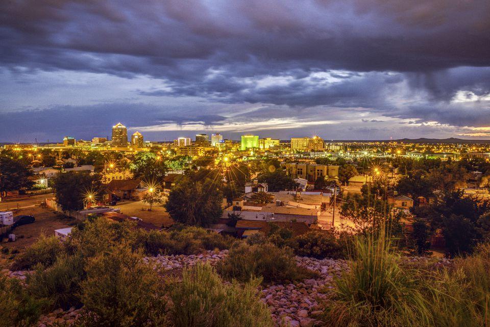 Albuquerque Skyline - New Mexico