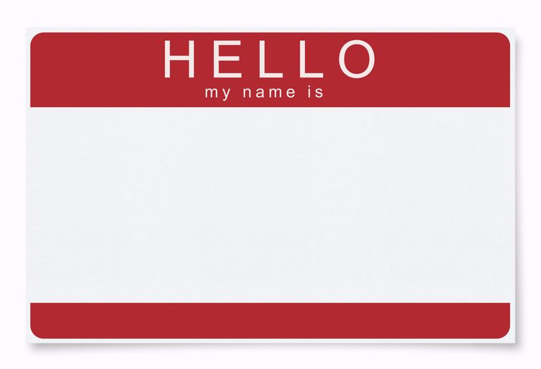 Name change announcement email examples and advice hello my name is sticker spiritdancerdesigns Image collections